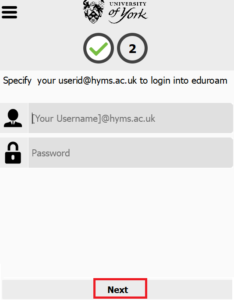 Eduroam client installer