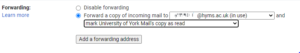 forwarding options gmail