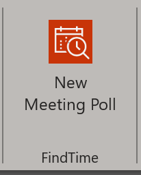 FindTime new poll option