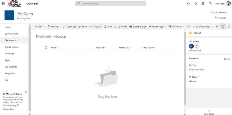 Sharepoint file view