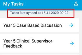 OpenCampus sync notification app