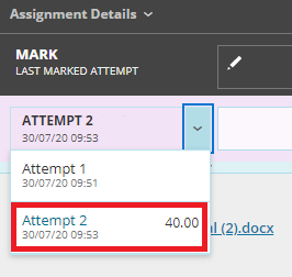 Blackboard submission attempt 2