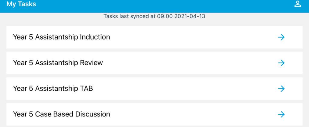 Screenshot of OpenCampus app